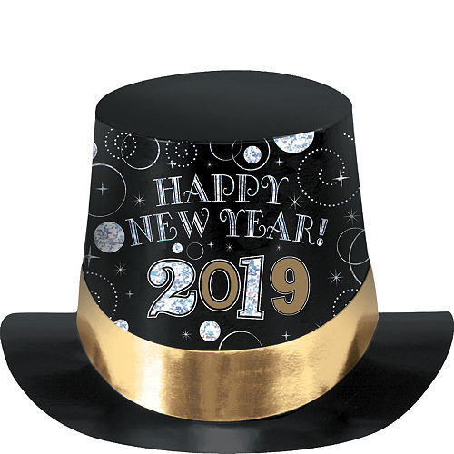 black gold silver 2019 new years