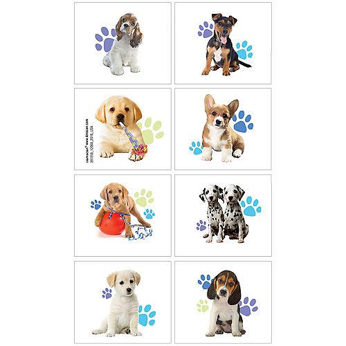 Party Pups Tattoos 1 Sheet