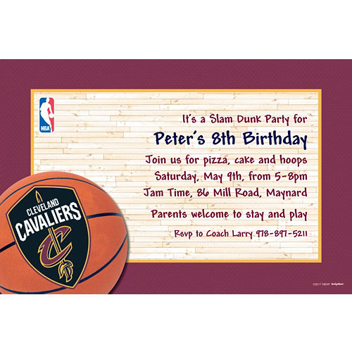 new arrival 17f25 696fa NBA Cleveland Cavaliers Party Supplies | Party City