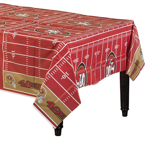 brand new 43eac 234ab NFL San Francisco 49ers Party Supplies | Party City