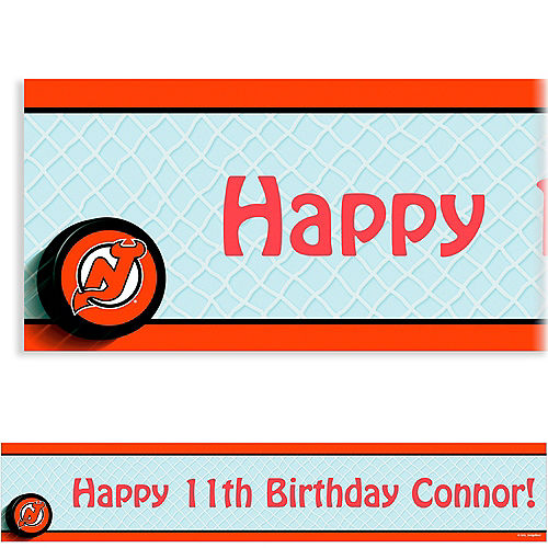 new product 28c1f 3d653 NHL New Jersey Devils Party Supplies | Party City