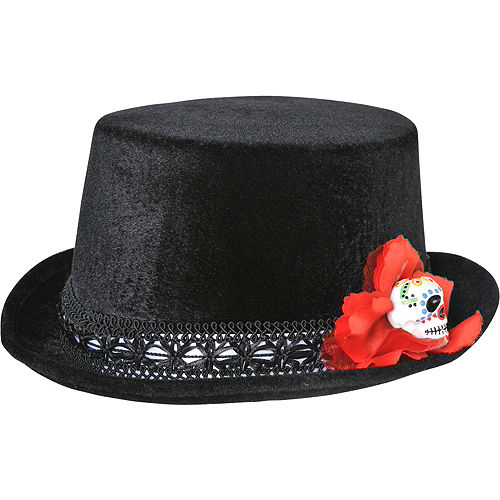 bcbf8b54d08c7 Day of the Dead Top Hat