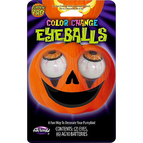 Light Up Pumpkin Eyeballs