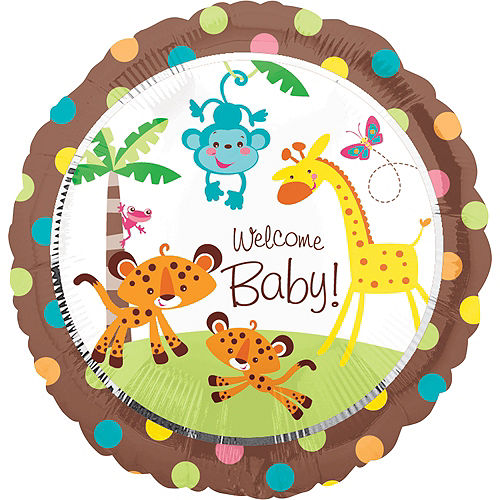 Fisher price abc baby shower party supplies party city canada fisher price baby shower balloon round filmwisefo