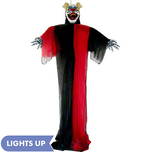 giant light up hanging scary clown