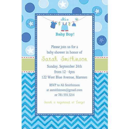 Baby Shower Invitations Printable