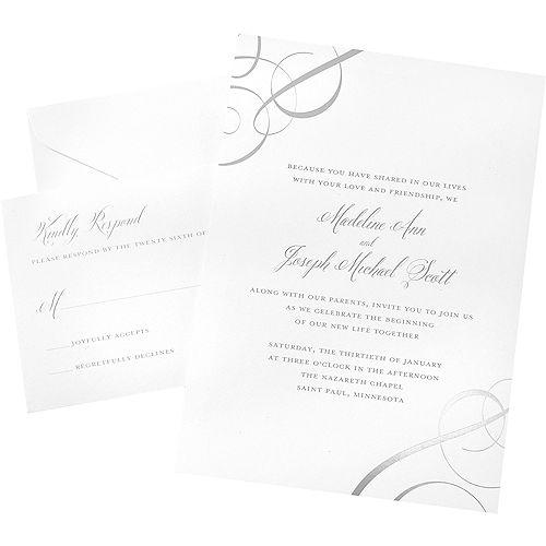 printable wedding invitations invitation kits party city