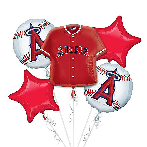 Los Angeles Angels Balloon Bouquet 5pc