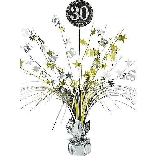 30th Birthday Spray Centerpiece