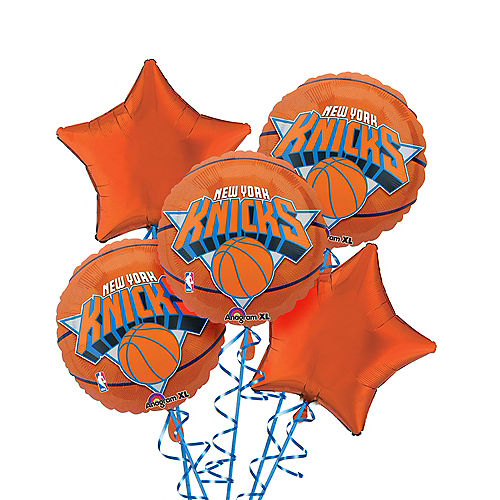 New York Knicks Balloon Bouquet 5pc