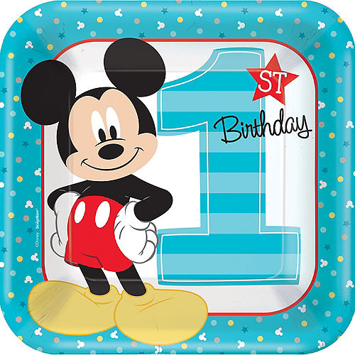 Mickey Mouse 1st Birthday Party Supplies Party City Canada