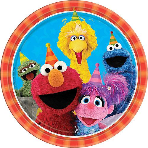 Sesame Street Lunch Plates 8ct