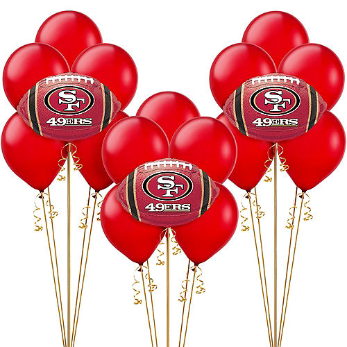 San Francisco 49ers Balloon Kit
