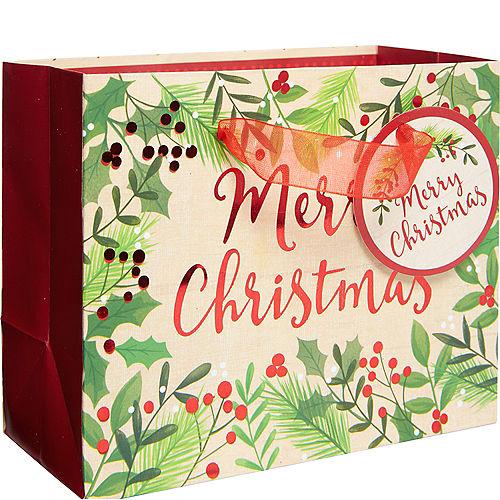 0c46e38b4 Mini Holly Merry Christmas Gift Bag
