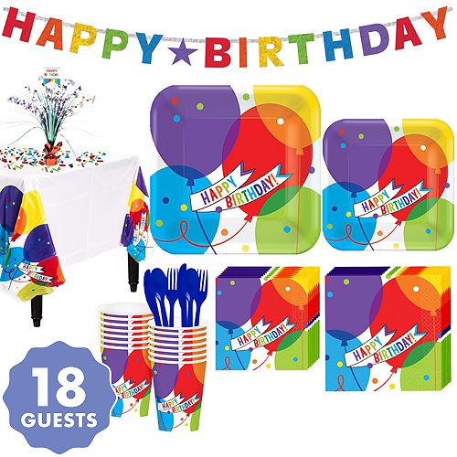 Balloon Bash Birthday Party Supplies