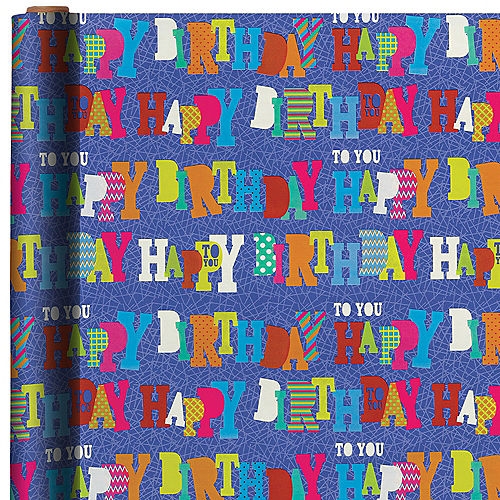 Happy Birthday To You Gift Wrap