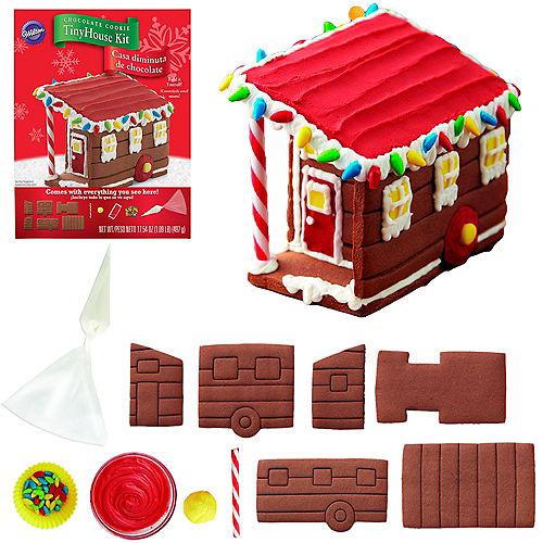 Wilton Chocolate Cookie Tiny House Kit