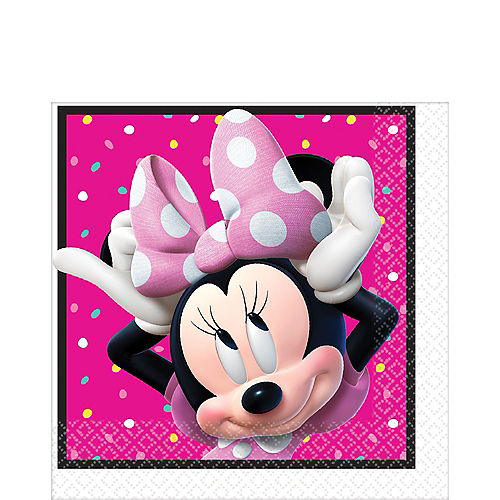 Minnie Mouse Lunch Napkins 16ct