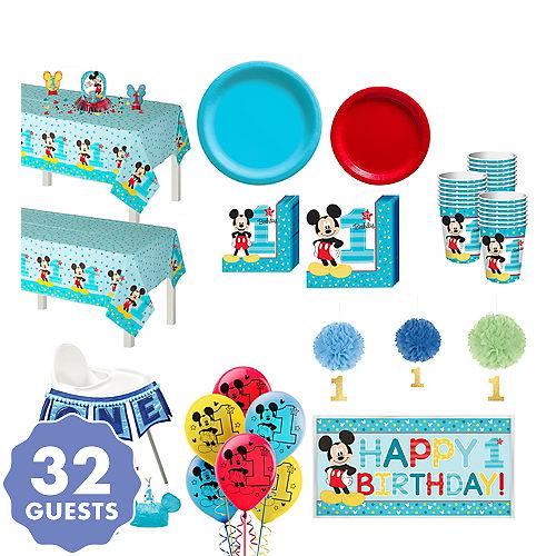 Mickey Mouse 1st Birthday Logo 1st Birthday Ideas