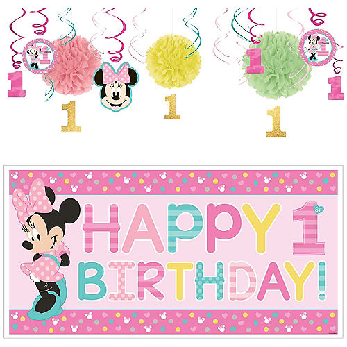 Marvelous Minnie Mouse 1St Birthday Party Supplies Party City Canada Best Image Libraries Sapebelowcountryjoecom