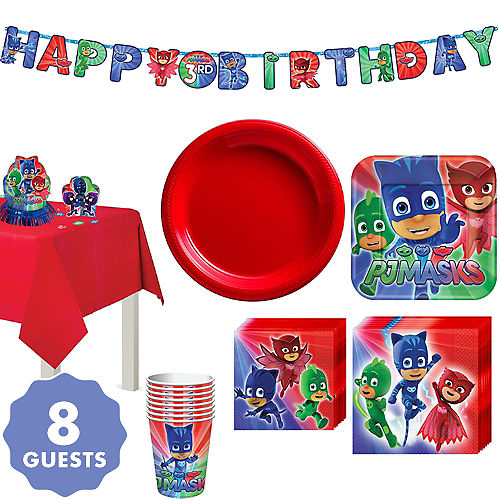 Pj Masks Party Supplies Pj Masks Birthday Party Party City