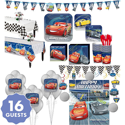 Disney Cars Party Supplies - Cars 3 Birthday Ideas | Party