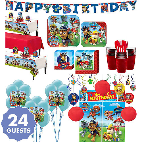 PAW Patrol Tableware Ultimate Kit For 24 Guests