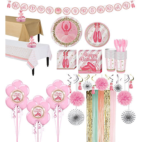 Ballerina Party Supplies - Ballerina Birthday Party | Party City Canada