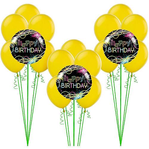 Neon Party Balloon Kit
