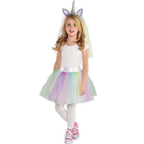 girls unicorn costume accessory kit