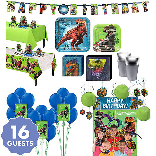 Jurassic World Ultimate Party Kit For 16 Guests