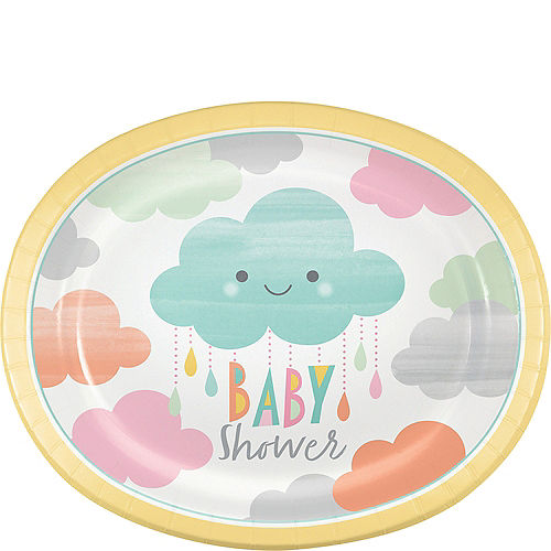 Cloud baby shower. Happy clouds party supplies