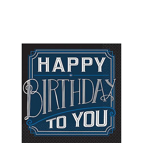 Happy Birthday Classic Beverage Napkins 16ct