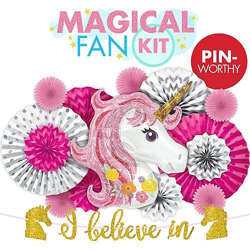Awesome Unicorn Fan Wall Decorating Kit