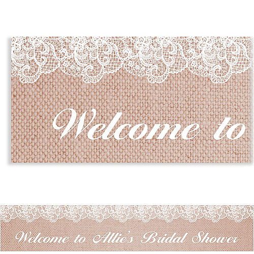 Formal Welcome Banners April Shower Banners