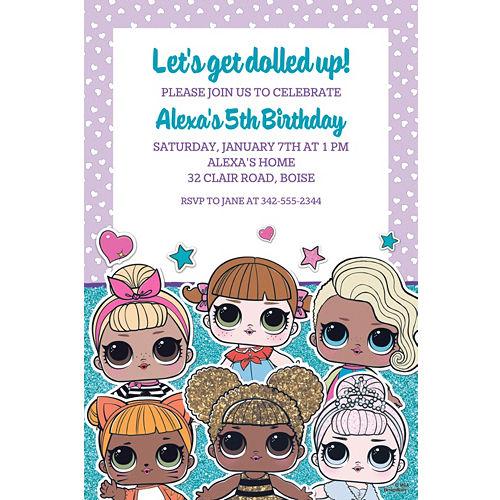 custom invitations personalized invitations party city