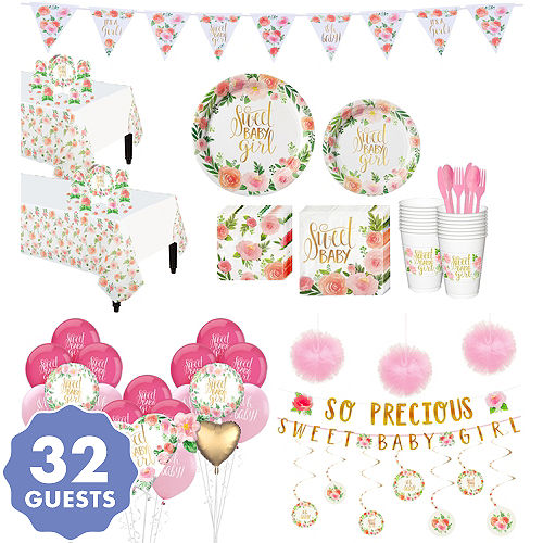 4eabd4175810 Baby Shower Party Supplies - Baby Shower Decorations