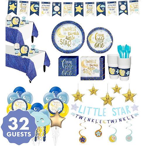 Twinkle Twinkle Little Star Baby Shower Decoration Ideas from partycity3.scene7.com
