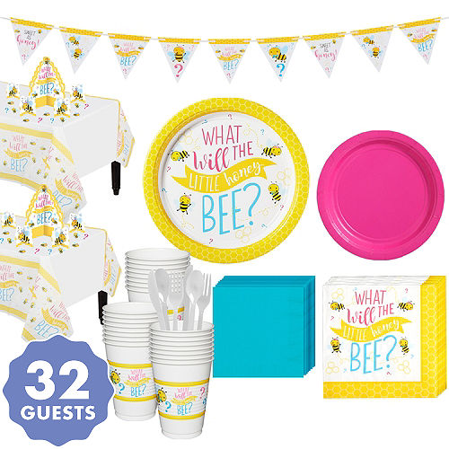 Gender Reveal Party Supplies Bumble Be What Will It Bee Party City
