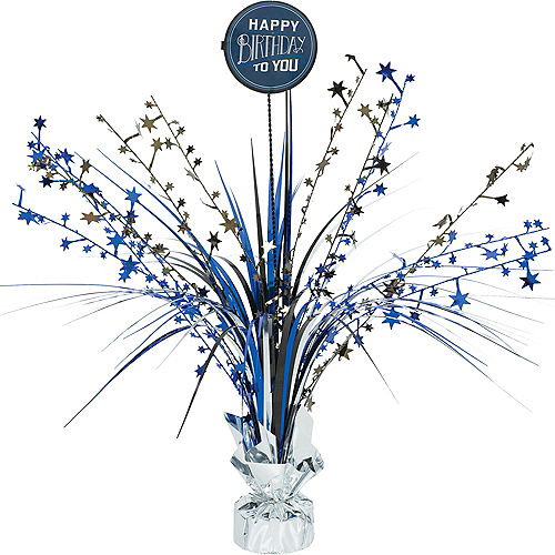 Vintage Happy Birthday Spray Centerpiece Kit