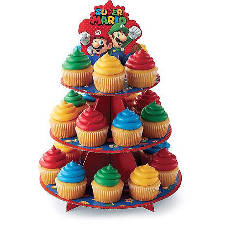 Wilton Super Mario Cupcake Stand