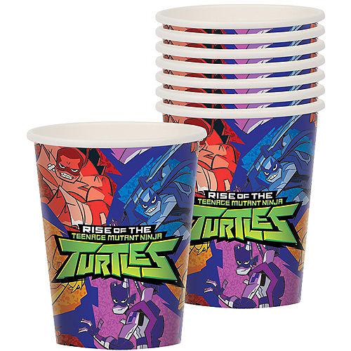 Rise Of The Teenage Mutant Ninja Turtles Cups 8ct