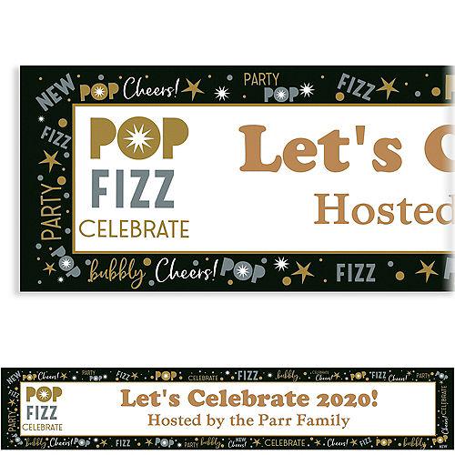 custom celebrate new years banner