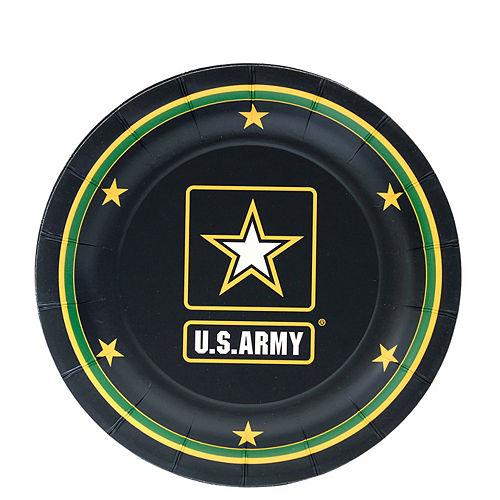 US Army Dessert Plates 8ct
