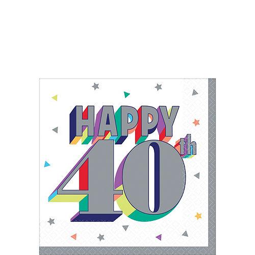 40th Birthday Party Supplies - 40th Birthday Ideas & Themes