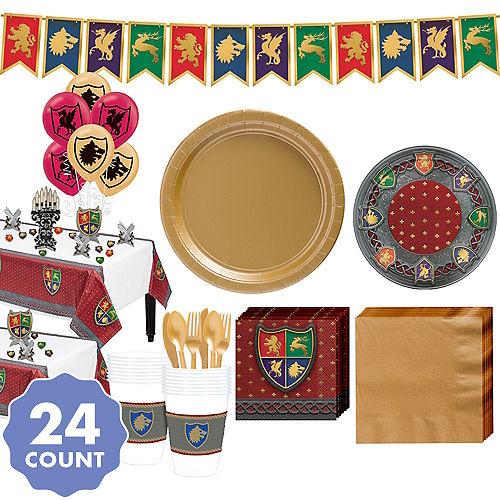 01d9a9b6487 Super Medieval Sigils Party Kit for 24 Guests