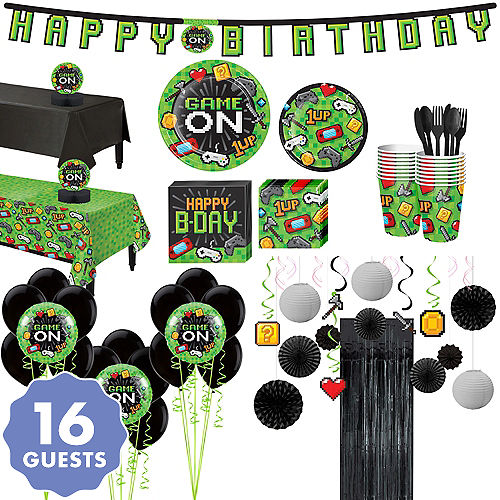 Ultimate Video Game Party Kit For 16 Guests