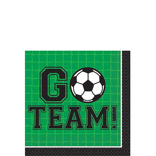 8a9843610 Goal Getter Soccer Beverage Napkins 36ct