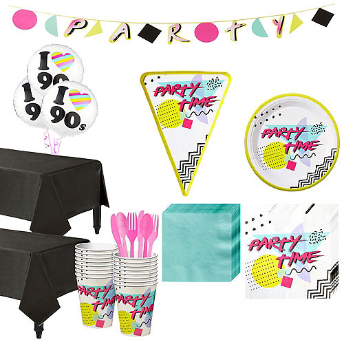 90s Pizza Party Kit For 16 Guests