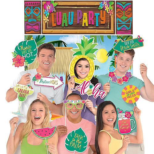 Luau Party Photo Booth Kit